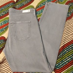 Ag Adriano Goldschmied Jeans - Adriano Goldschmied AG light grey Jeans size 28P